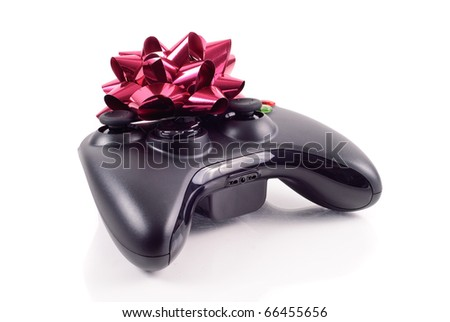 New Game Controller for Christmas - stock photo