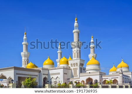 New grand mosque in Cotobato, Southern Philippines - stock photo