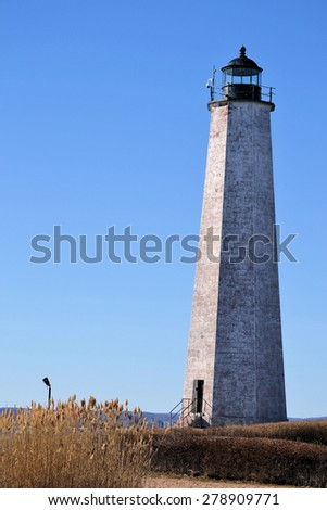 New Haven Lighthouse - stock photo