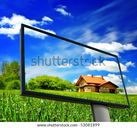 New home concept - stock photo