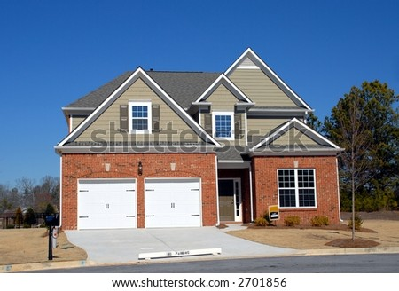 New Home For Sale - stock photo