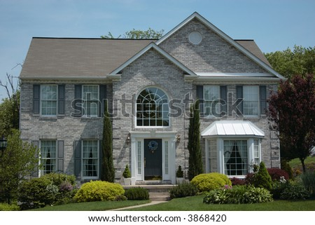 New Home House 27 - stock photo