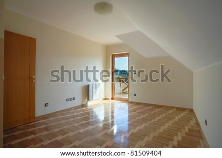New home interior - stock photo