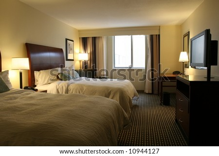 New Hotel Suite - stock photo