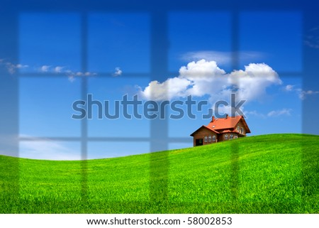 New house concept - stock photo