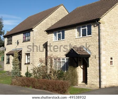 New Houses - stock photo