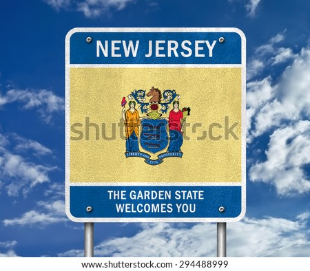 New Jersey - The Garden State welcomes you