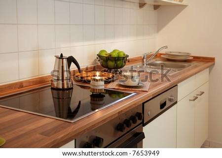 New kitchen - stock photo