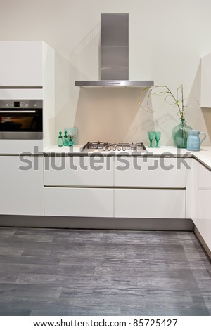 new kitchen - stock photo