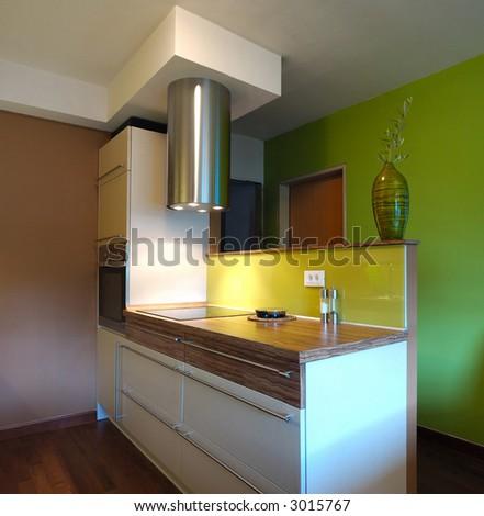 New Kitchen Design - stock photo