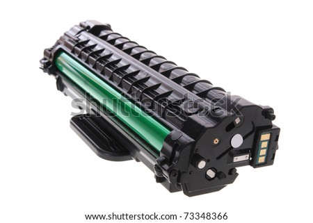 new laser printer cartridge - stock photo