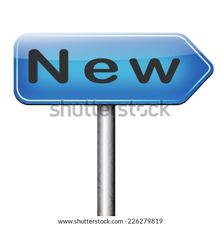 new life career and job latest look release trend and collection, fresh start and begin - stock photo