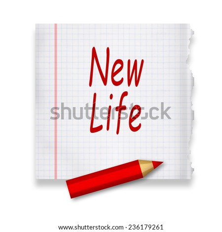 New life concept - stock photo