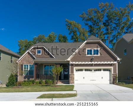 New little house - stock photo