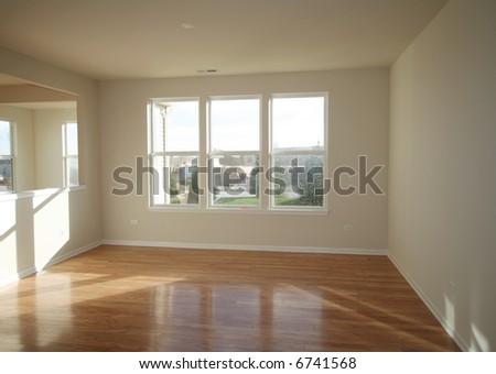 New Living Room - stock photo