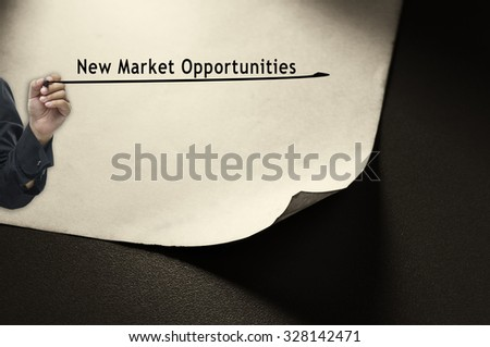 New market opportunities  - stock photo