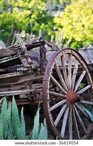 New Mexico Wagon - stock photo