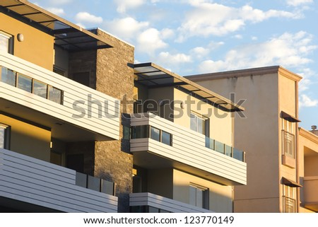 New modern apartments