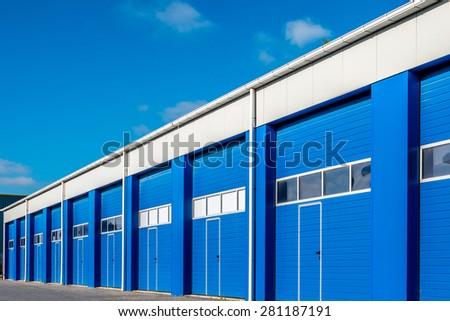 New Modern business unit - stock photo