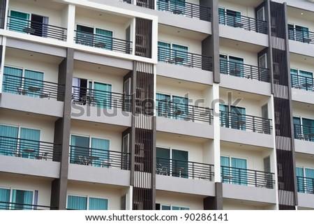 New modern condominium - stock photo