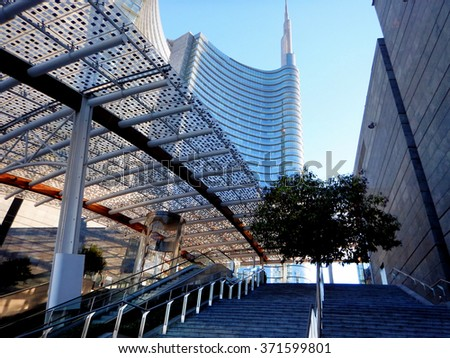 new modern district in Milan