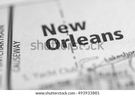 New Orleans. Louisiana. USA.