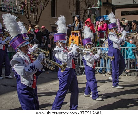 2016 participant in the mardis gras day fat tuesday zulu parade