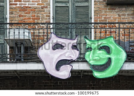 New Orleans Mardi Gras - stock photo