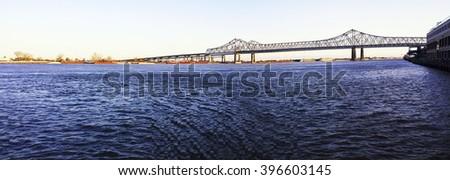 New Orleans skyline - stock photo
