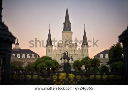 New Orleans USA - stock photo