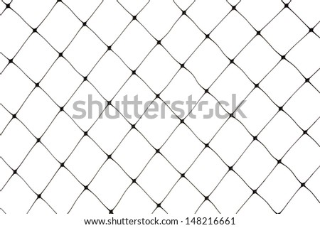 New protective bird netting against a white background.