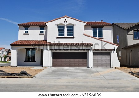 New Residential Home - stock photo