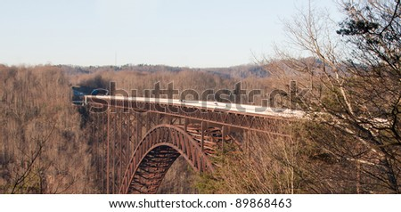 New River Bridge in West Virginia