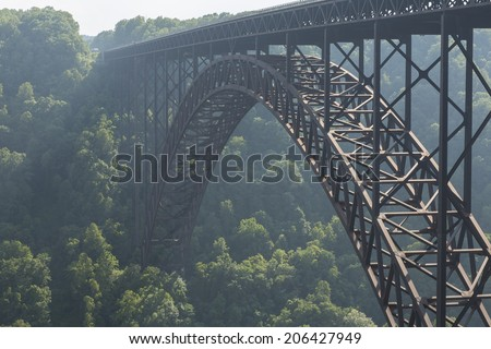 New River Gorge Bridge - stock photo