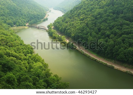 New River Gorge Scenic - stock photo