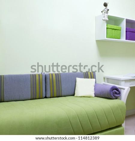 New Room interior design - stock photo
