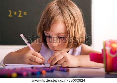 New school year - stock photo