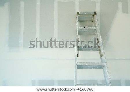 New Sheetrock Drywall Abstract Background - stock photo