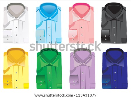 new shirts - stock photo