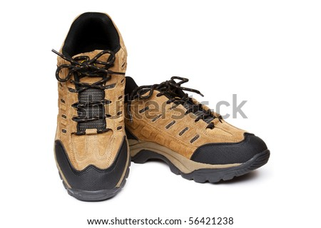 New shoes /w clipping path, isolated.