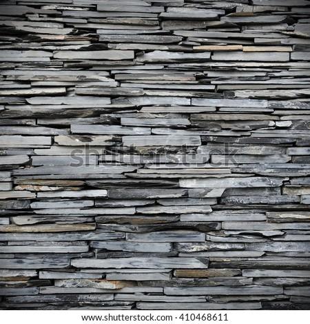 New Stone Wall Background - stock photo