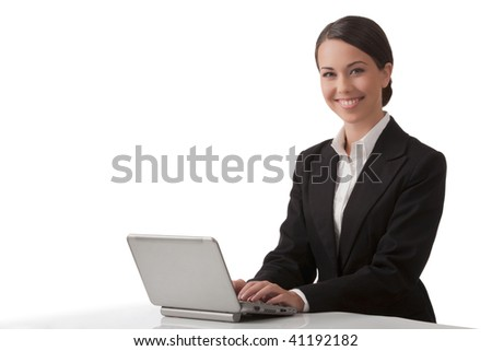 New technologies - good work - success in affairs - good mood - stock photo