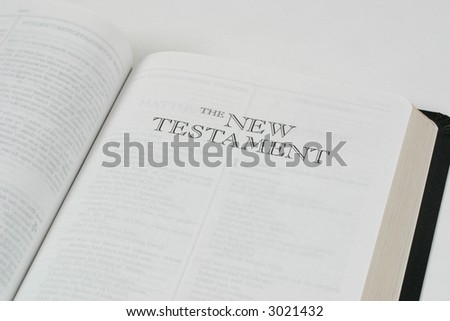New Testament Title in Bible