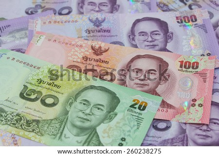 New Thailand bank notes