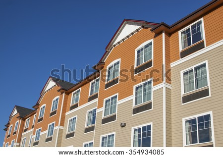 new townhouses or condominiums