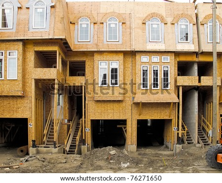 New Townhouses under construction