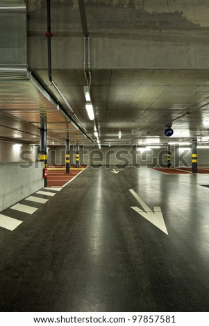 new underground parking