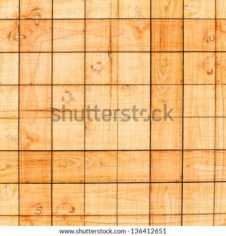 new wood background - stock photo