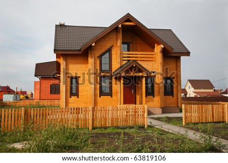 New Wooden House for sale