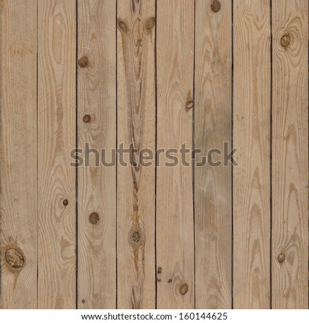 New wooden planks seamless texture - stock photo